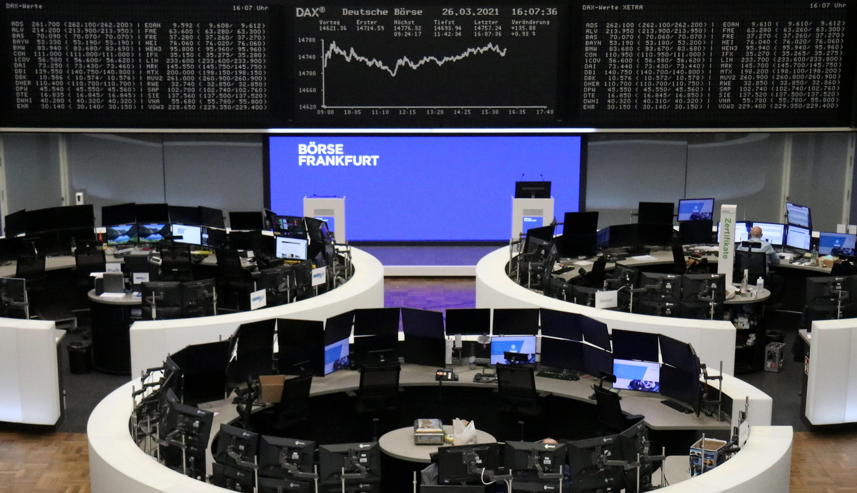 European stocks edge higher, Credit Suisse tumbles   Reuters