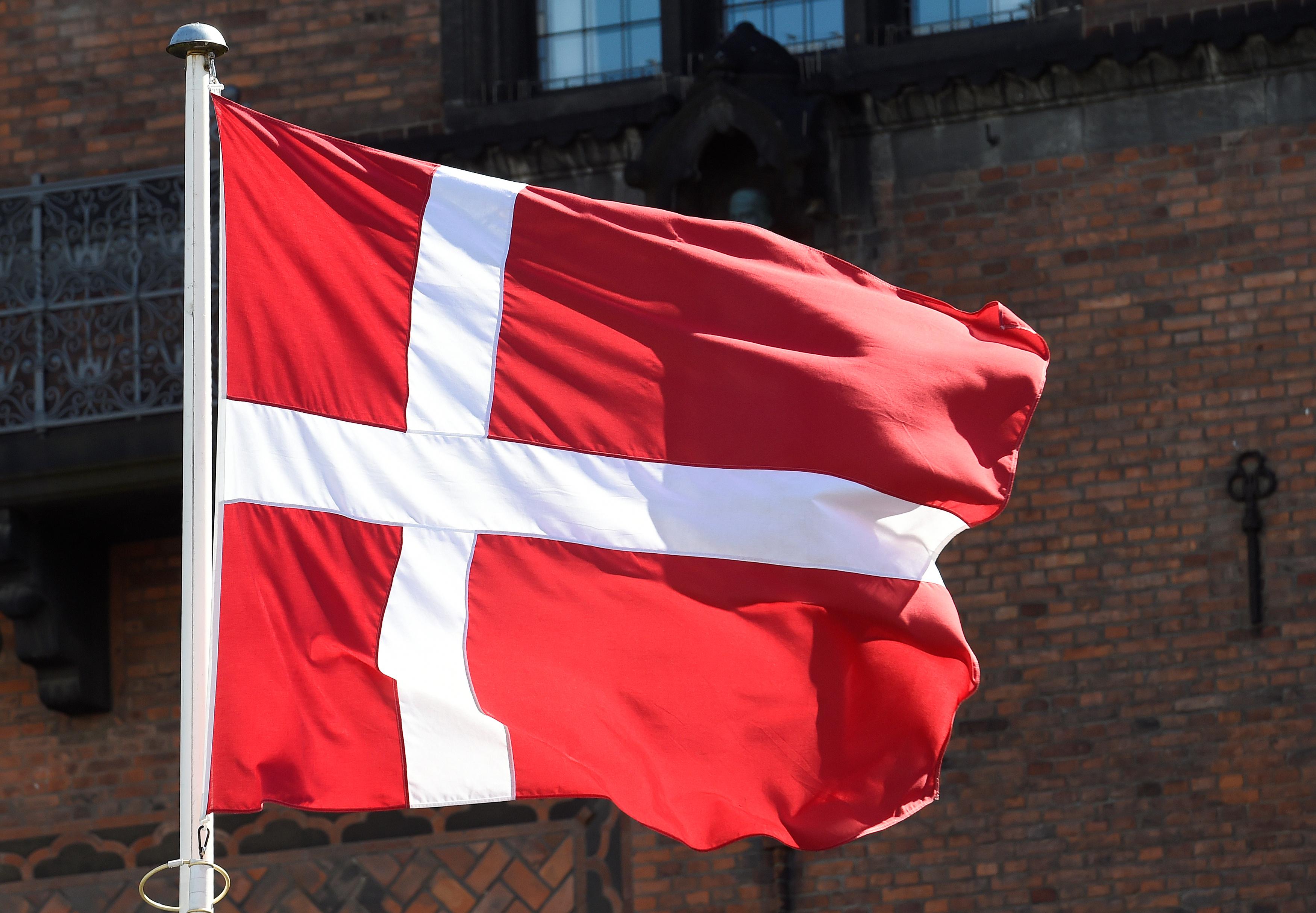 A Danish flag is pictured in Copenhagen, Denmark April 19, 2017.  REUTERS/Fabian Bimmer