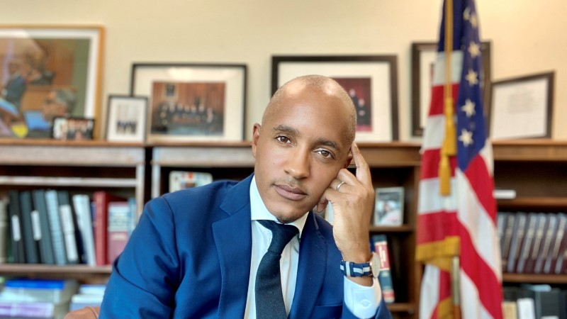 Damian Williams, who U.S. President Joe Biden named as U.S. attorney for Manhattan on August 10, 2021, is seen in this undated handout photo.   U.S. Attorney's Office in Manhattan/Handout via REUTERS