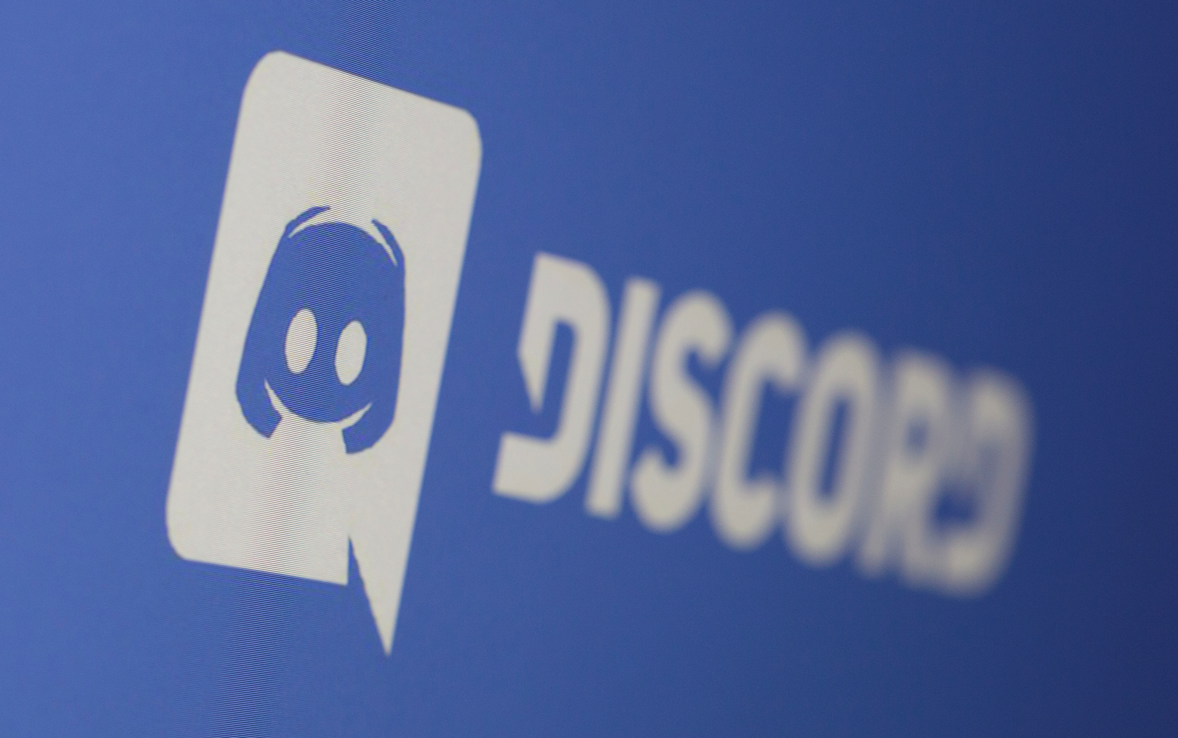 Discord app logo is seen displayed in this illustration taken March 29, 2021. REUTERS/Dado Ruvic/Illustration