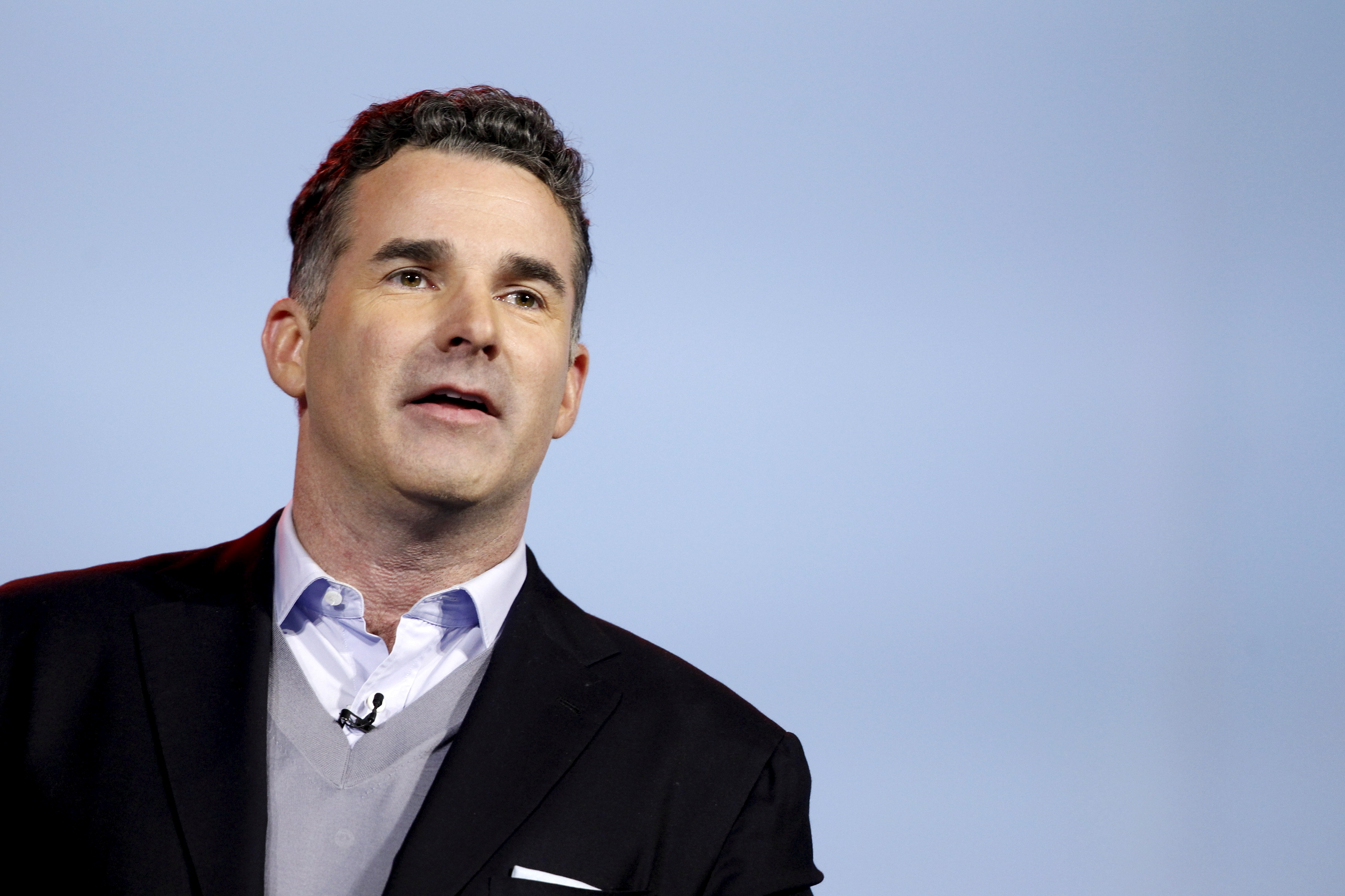 File photo: Founder and CEO of Under Armour Kevin Plank speaks during an IBM keynote address at the 2016 CES trade show in Las Vegas, Nevada, January 6, 2016. REUTERS/Steve Marcus.