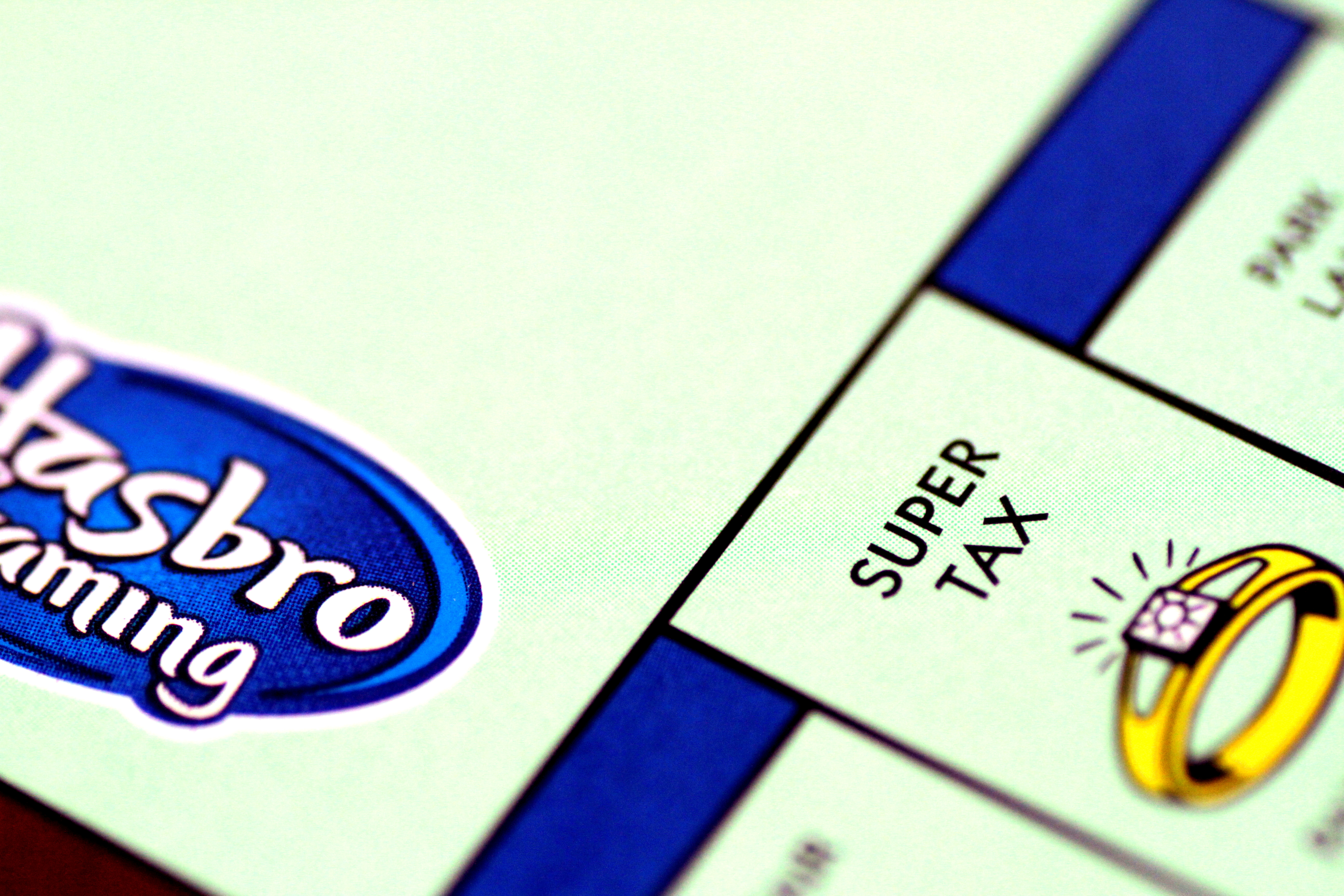 A Monopoly board game by Hasbro Gaming is seen in this illustration photo August 13, 2017. REUTERS/Thomas White/Illustration/File Photo